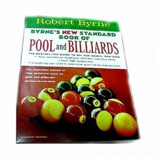 Robert Byrne's New Standard Book of Pool and Billiards | moneymachines.com