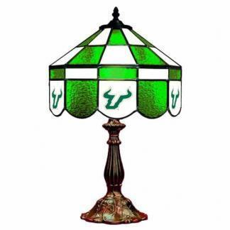 South Florida Bulls Stained Glass Table Lamp | moneymachines.com