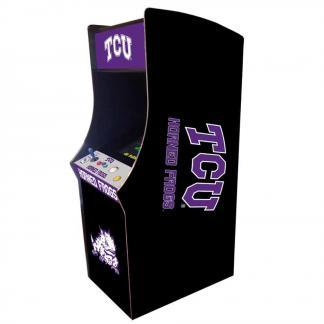 TCU Horned Frogs Arcade Multi-Game Machine | moneymachines.com
