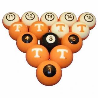 Tennessee Volunteers Billiard Ball Set | moneymachines.com
