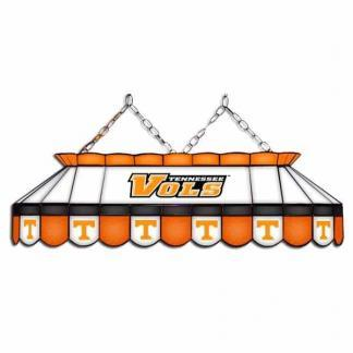 """Tennessee Volunteers MVP 40"""" Tiffany Stained Glass Pool Table Lamp 