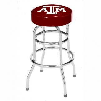 Texas A&M Aggies College Logo Double Rung Bar Stool | moneymachines.com