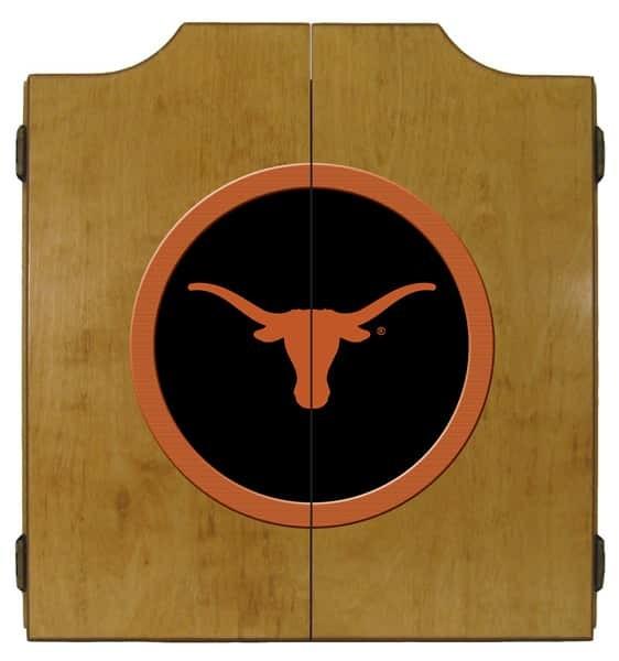 Texas Longhorns College Logo Dart Cabinet | moneymachines.com