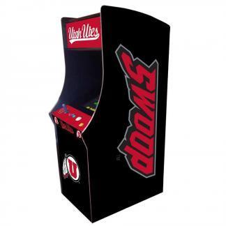 Utah Utes Arcade Multi-Game Machine   moneymachines.com