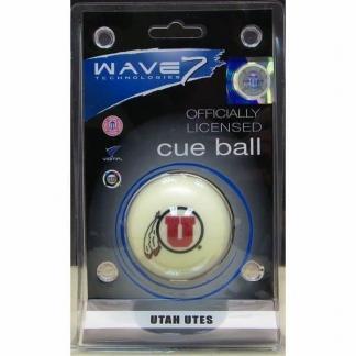 Utah Utes Billiard Cue Ball   moneymachines.com