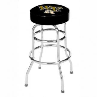 Wake Forest Demon Deacons College Logo Double Rung Bar Stool | moneymachines.com