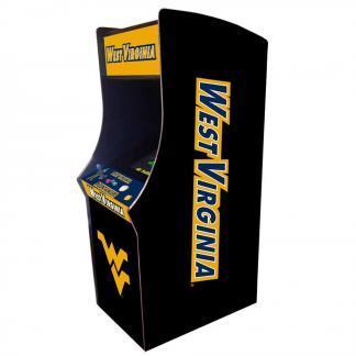 West Virginia Mountaineers Arcade Multi-Game Machine | moneymachines.com