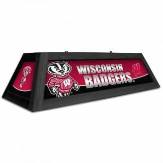 Wisconsin Badgers Spirit Game Table Lamp | moneymachines.com