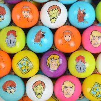 Zed Scooby Doo Gumballs - 850 Count Case Plus 50 Free   moneymachines.com