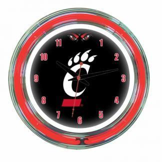 Cincinnati Bearcats Neon Wall Clock | Moneymachines.com