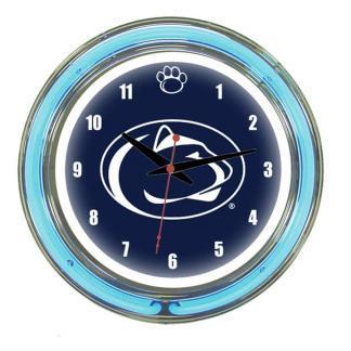 Penn State Nittany Lions Neon Wall Clock | Moneymachines.com