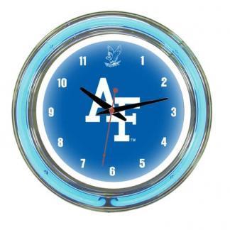 Air Force Falcons Neon Wall Clock | Moneymachines.com