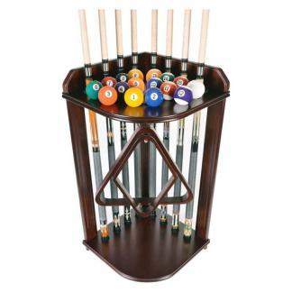 CL Bailey Corner Billiard Cue Rack | moneymachines.com
