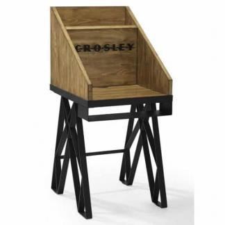 Crosley Brooklyn Turntable Stand - Natural | moneymachines.com