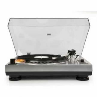 Crosley C100 Turntable - Silver | moneymachines.com