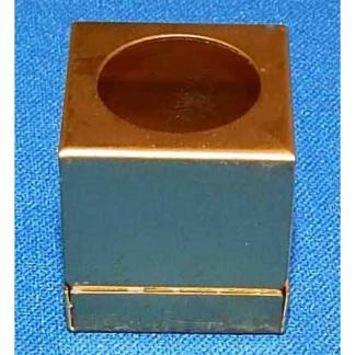 Gold Metal Personal Cue Chalk Holder | moneymachines.com