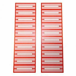 Jukebox 45 RPM Blank Record Labels - Sheet of 20 | moneymachines.com