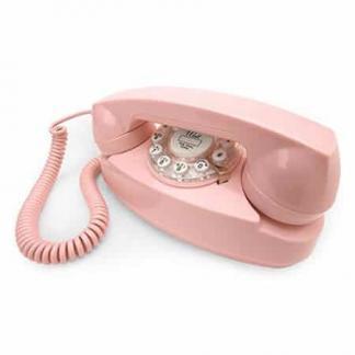 Princess Phone - Pink - CR59-PI | moneymachines.com