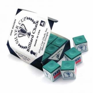 Silver Cup Cue Chalk - 12 Boxes of 12 (Gross 144) | moneymachines.com