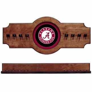Alabama 2-Piece Cue Rack Pecan Circle A   Moneymachines.com