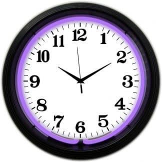 Conventional Alphanumeric Neon Wall Clocks