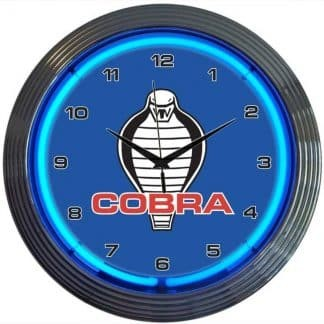 AUTO – FORD COBRA NEON CLOCK – 8COBRA | moneymachines.com