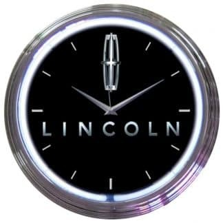 AUTO – FORD LINCOLN NEON CLOCK – 8LNCLN | moneymachines.com
