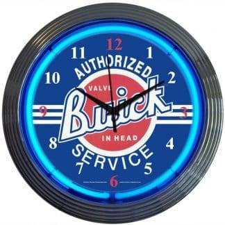 AUTO – GM – BUICK SERVICE NEON CLOCK – 8BUICK | moneymachines.com
