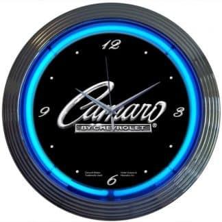 AUTO – GM – CAMARO NEON CLOCK – 8CAMAR | moneymachines.com