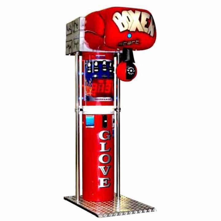 Boxing Punching Bag Game Machines & Parts | moneymachines.com