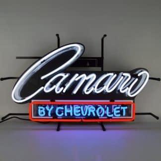CAMARO BY CHEVROLET NEON SIGN – 5CAMCH | moneymachines.com