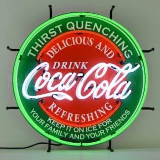 COCA-COLA EVERGREEN NEON SIGN – 5CCGRN | moneymachines.com