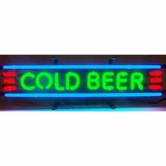 COLD BEER NEON SIGN – 5CLDBA   moneymachines.com