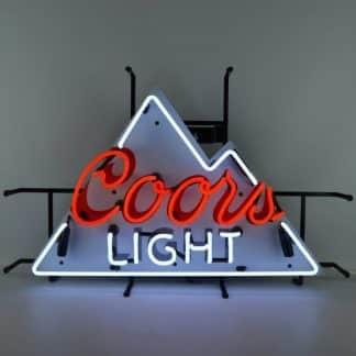 COORS LIGHT NEON SIGN – 5MCOOR   moneymachines.com