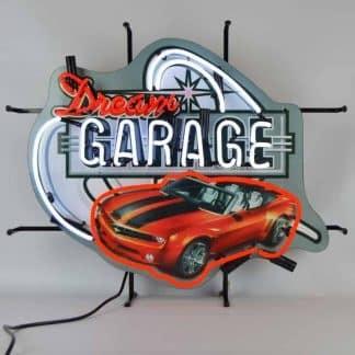 DREAM GARAGE CAMARO NEON SIGN – 5DGCAM   moneymachines.com