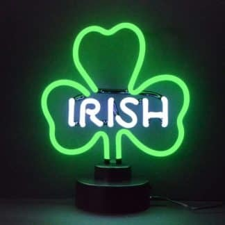 IRISH SHAMROCK NEON SCULPTURE – 4IRISH | moneymachines.com