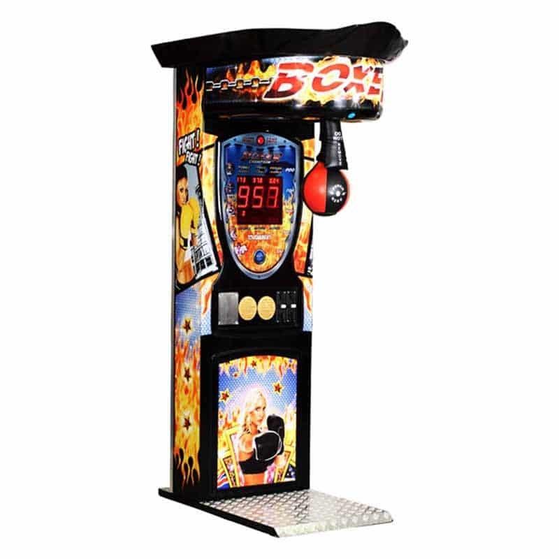 Kalkomat Fire Boxing Game Machine   moneymachines.com