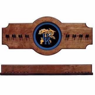 Kentucky 2-Piece Cue Rack Pecan | Moneymachines.com