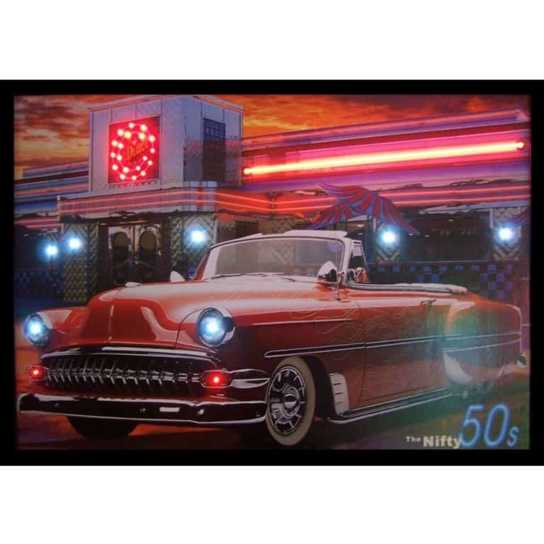 NIFTY FIFTIES NEON/LED Picture – 3N5ONL | moneymachines.com