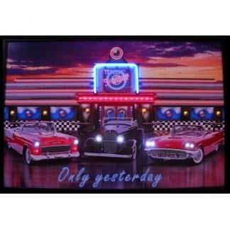 ONLY YESTERDAY NEON/LED Picture – 3YESTX | moneymachines.com