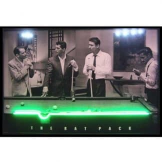 RAT PACK NEON/LED Picture – 3RATNL | moneymachines.com