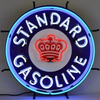 STANDARD GASOLINE NEON SIGN – 5STAND | moneymachines.com