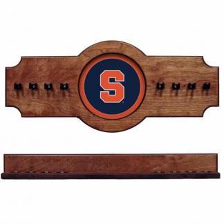 Syracuse 2-Piece Cue Rack Pecan   Moneymachines.com