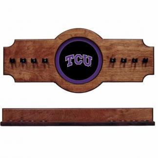 TCU 2-Piece Cue Rack Pecan | Moneymachines.com