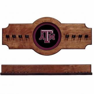 Texas A&M 2-Piece Cue Rack Pecan | Moneymachines.com