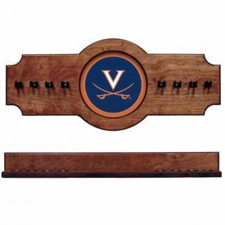 Virginia 2-Piece Cue Rack Pecan | Moneymachines.com