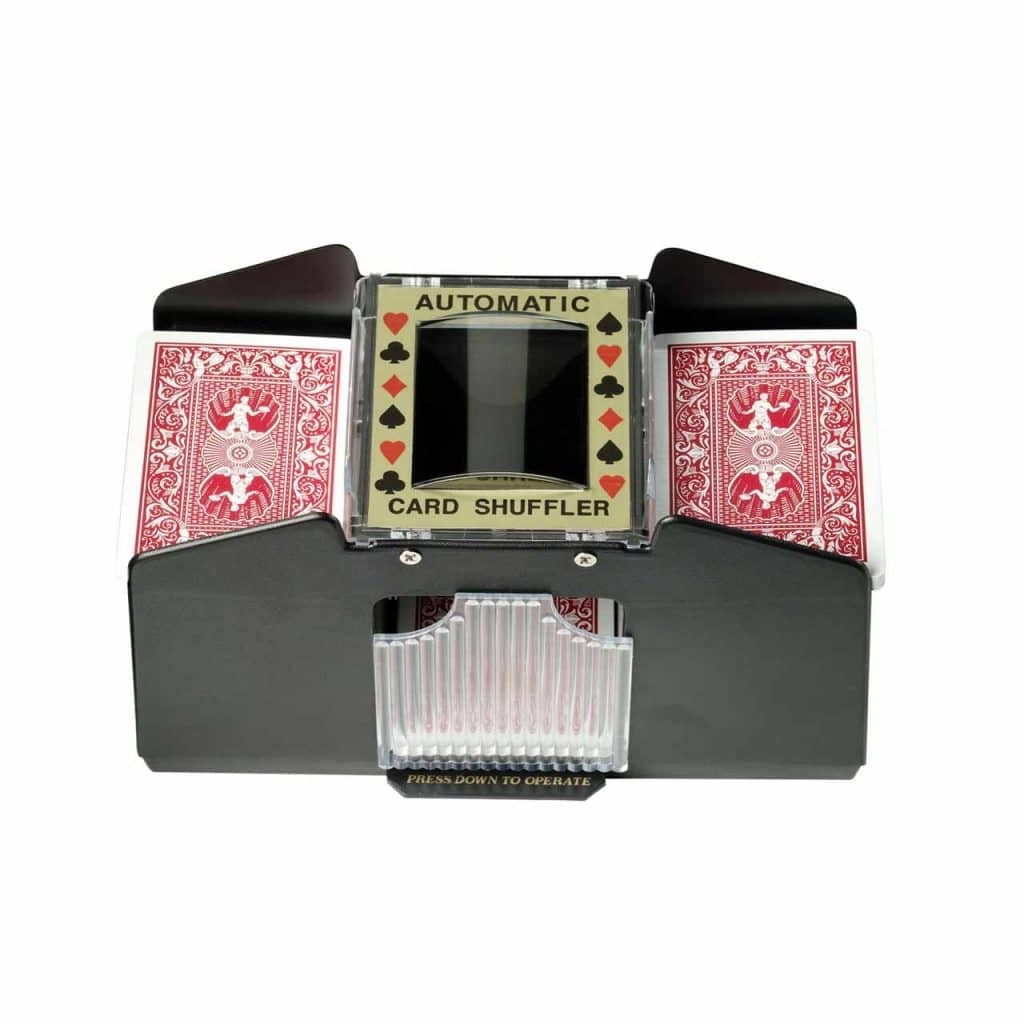 Casino 1-4 Deck Automatic Card Shuffler For Poker Games by Fat Cat - 55-0112 | moneymachines.com