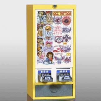 Impulse 2 Column Sticker Tattoo Vending Machine   moneymachines.com