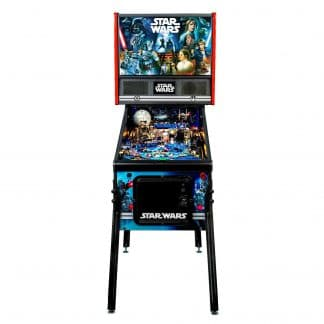 Stern's STAR WARS New Home Edition Pinball Game Machine   moneymachines.com