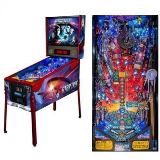 Stern Star Trek Vault Premium Pinball Game Machine   moneymachines.com
